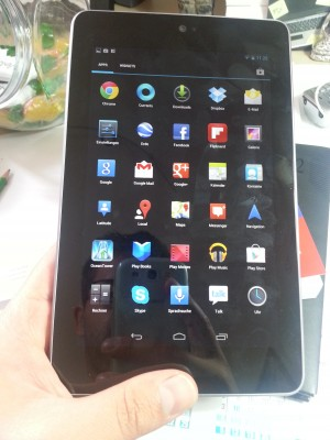 Das Nexus 7 Tablet