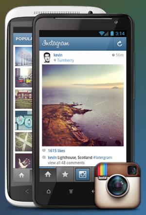 Instagram Foto-App für Android