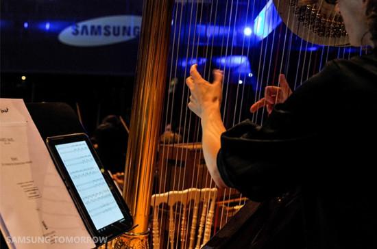Orchester Brüssel Samsung Note Tablet