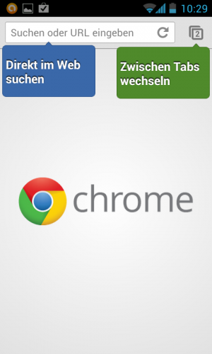 Google Chrome als Beta für Android 4.0