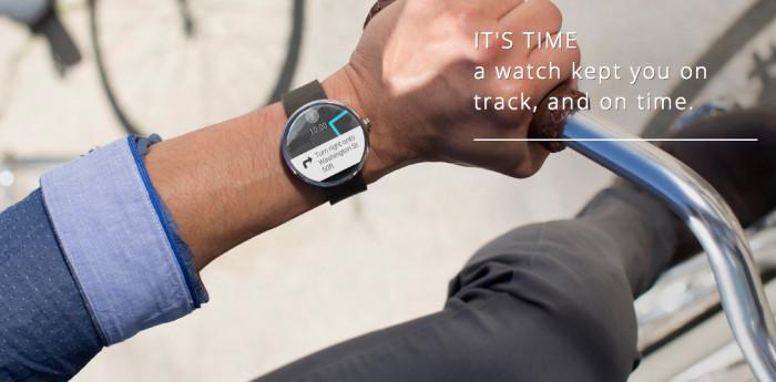 Uhr als Wearable Gadget