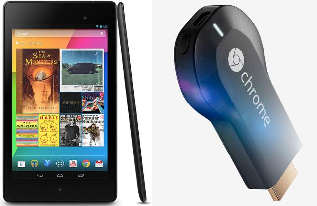 Nexus 7 und Chromcast von Google