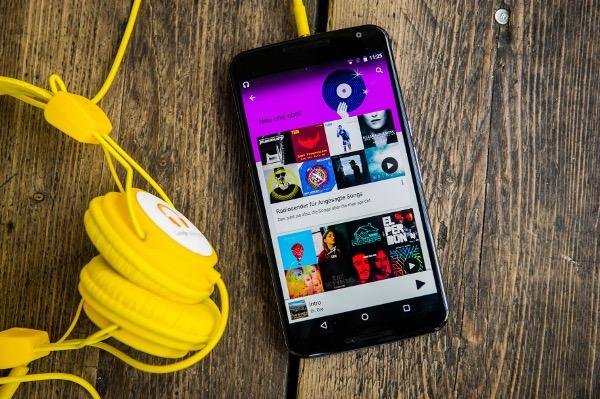 Google Play Musik 2015 Foto: Hoederath/Google