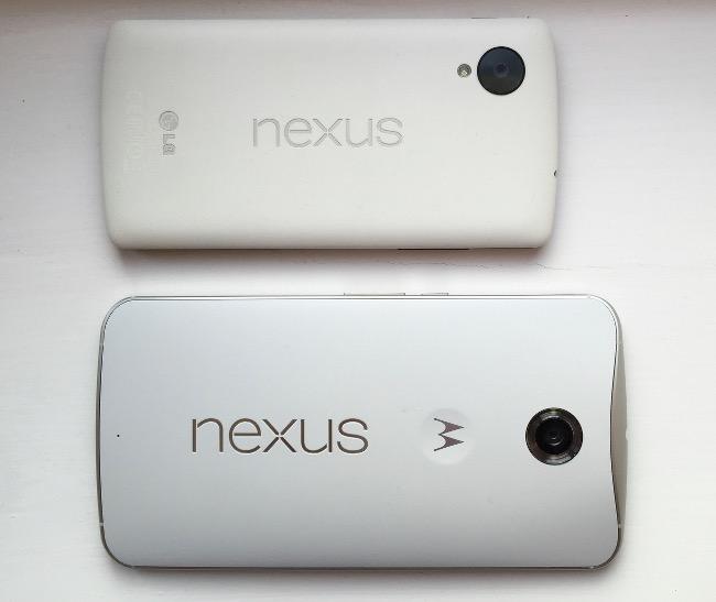 Nexus 5 vs 6