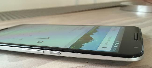 Nexus 6 Motorola liegend