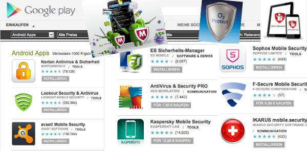 Sicherheit Android Malware viren